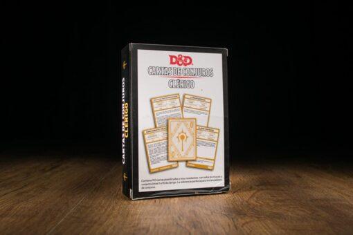 D&D Cartas de conjuros: Clérigo
