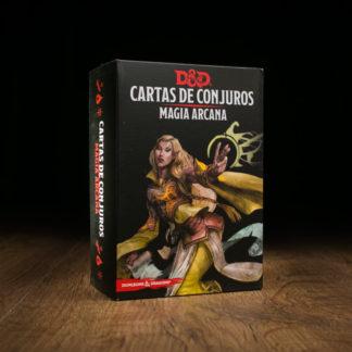 D&D Cartas de conjuros: Magia Arcana