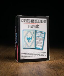 D&D Cartas de conjuros: Paladin