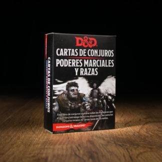 D&D Cartas de conjuros: Poderes marciales y razas