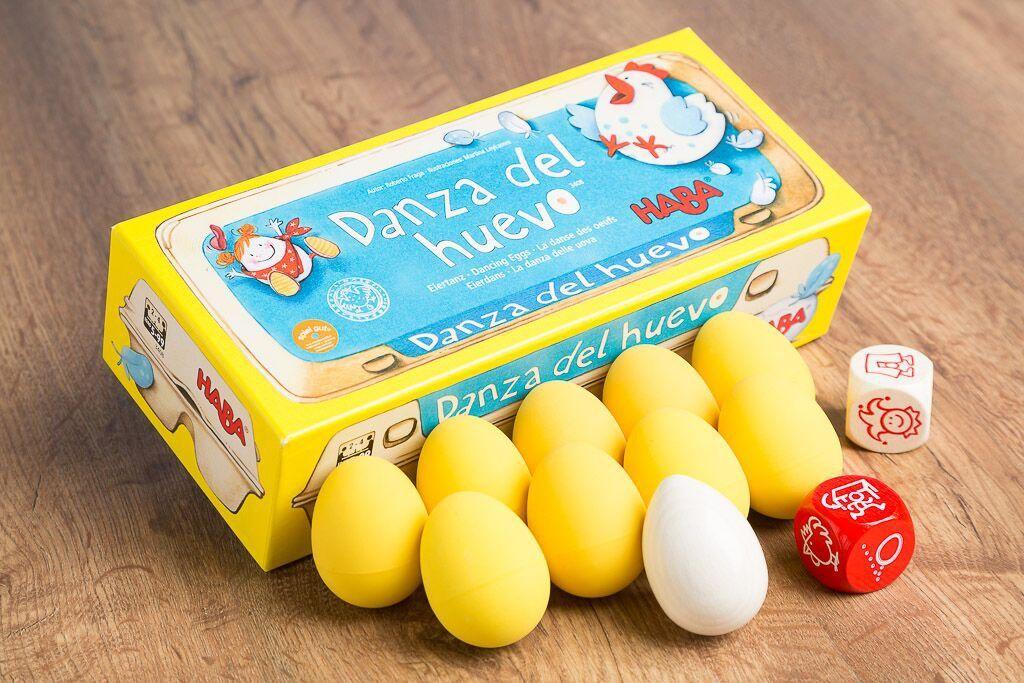 Danza del huevo, uno de nuestros juegos de mesa en movimiento