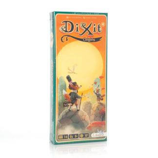 Dixit 4 Origins expansión de 84 cartas.
