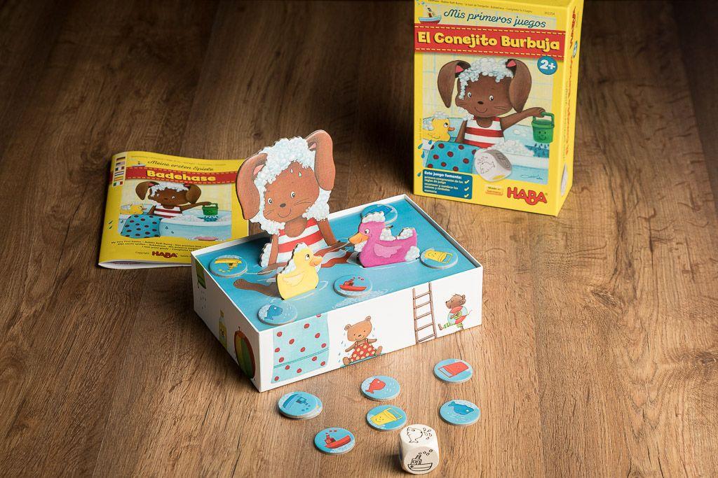 El conejito bubuja, juegos para niños de 0 a 3 años