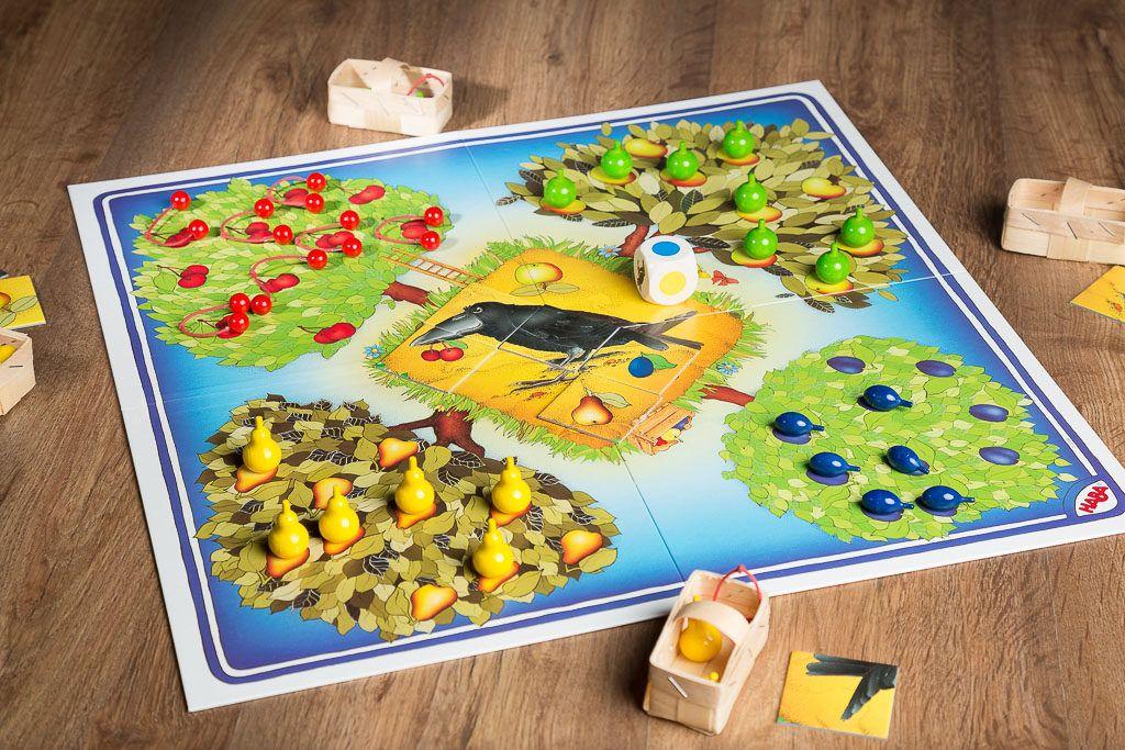 El frutal es uno de los juegos de mesa frutales