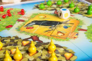 Selección de juegos de mesa frutales