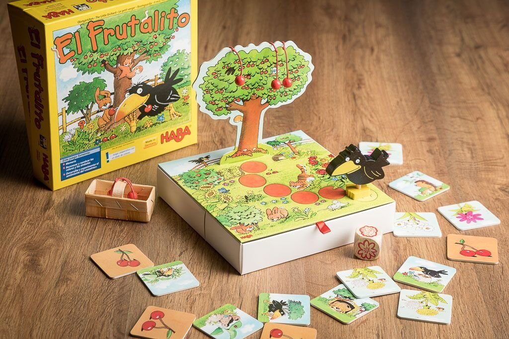 El frutalito, otro de nuestros juegos de mesa con tableros en 3D