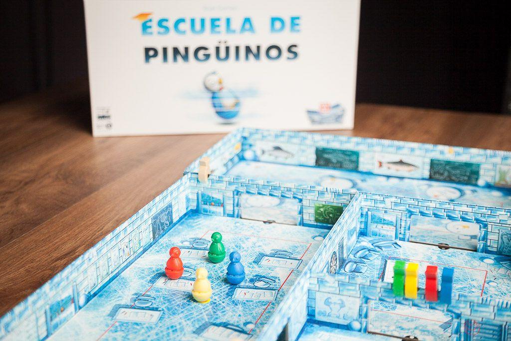 Escuela de pingüinos es uno de los juegos de mesa refrescantes