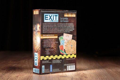 Exit la tumba del faraon