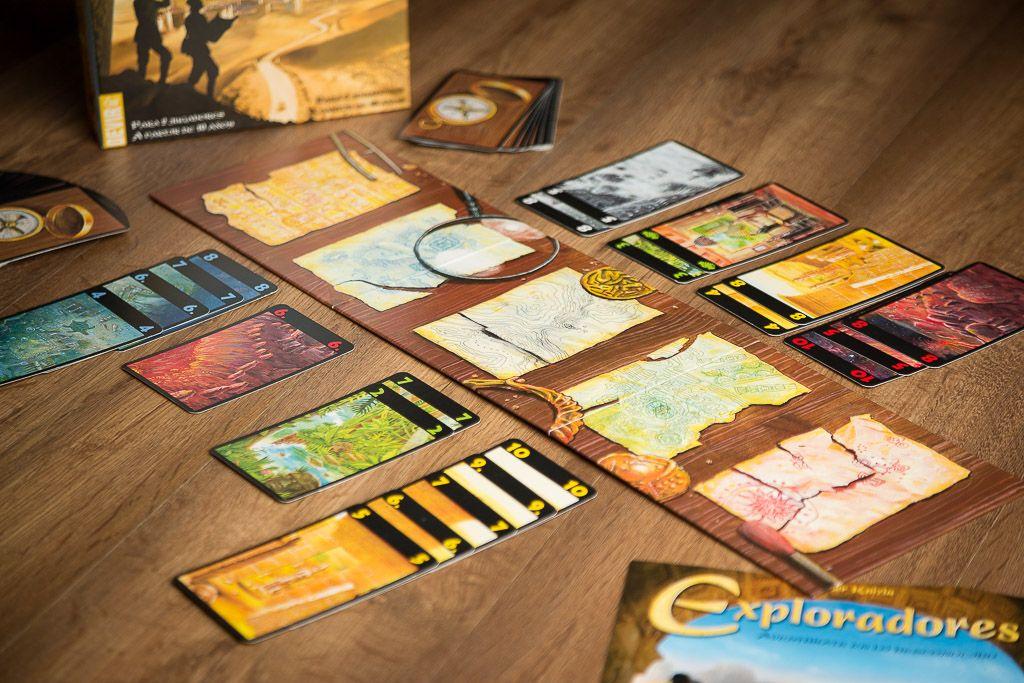 Reseña del juego de mesa exploradores