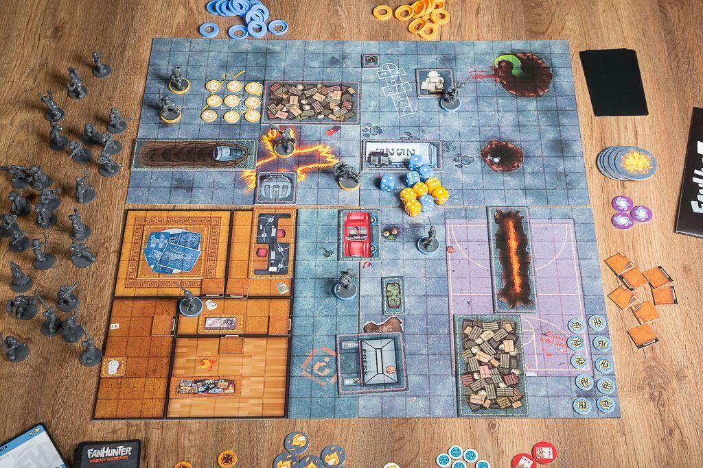 Fanhunter, otro de nuestros juegos de mesa basados en cómics