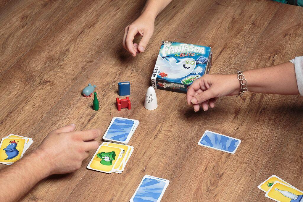 Fantasma blitz, duración de los juegos de mesa