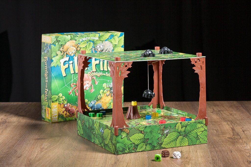 Fila Filo, uno de nuestros juegos de mesa con tableros en 3D