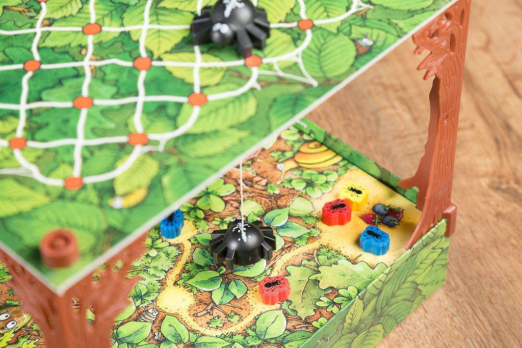 Fila y filo es uno de los juegos de insectos