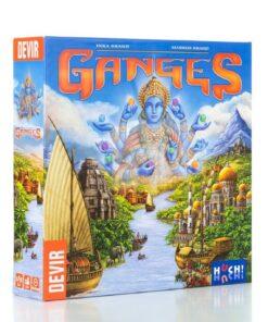 Ganges, eurogame de colocación de trabajadores