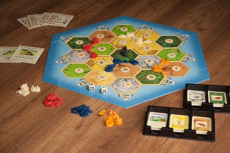 Comprar catan tienda online especialistas en juegos de mesa familiares - Catan juego de mesa ...