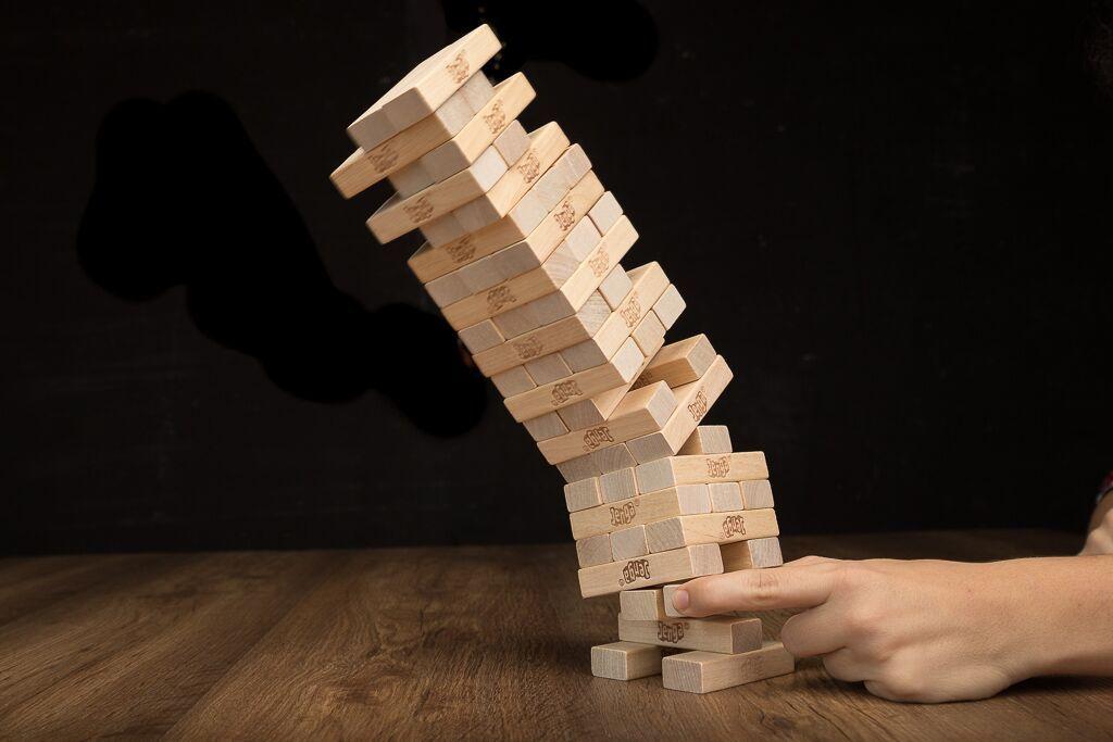 Jenga, un clásico entre los juegos de mesa de destreza
