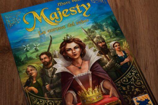 Majesty la corona del reino