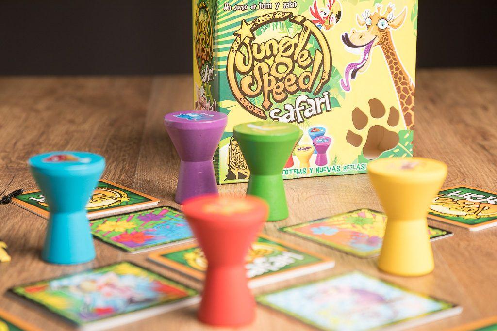 Jungle speed safari es uno de los juegos de mesa de menos de 30 minutos