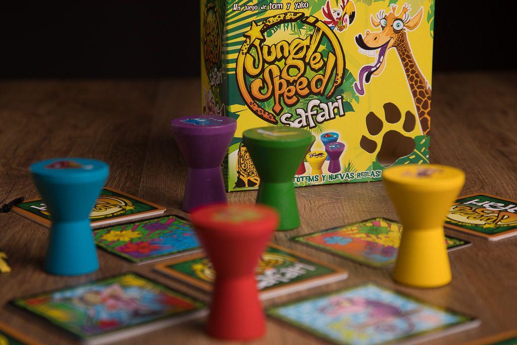 Jungle Speed Safari, juegos de mesa para mejorar la motricidad global