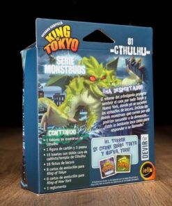 Comprar King of Tokyo | Serie monstruos | Cthulhu