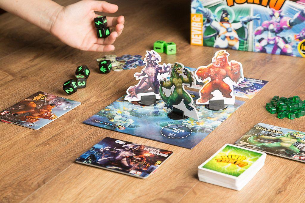 King of tokio es uno de los juegos de monstruos