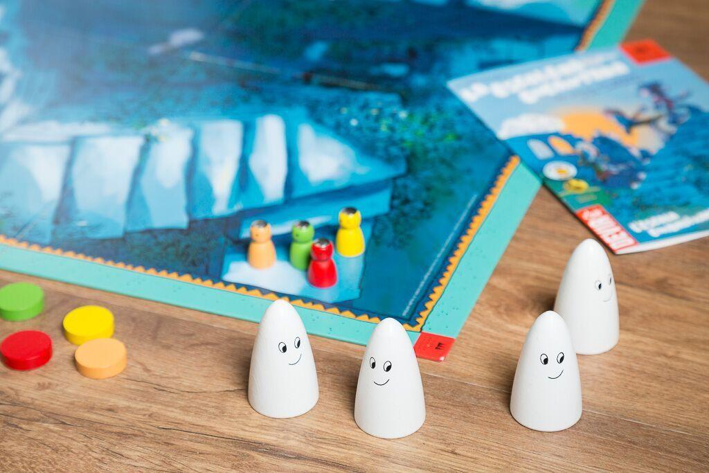 La escalera encantada, juegos de mesa de carreras fantasmagóricas