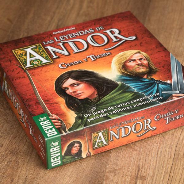 Comprar Las leyendas de Andor | Chada y Thorn