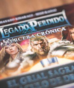 Comprar Legado perdido | Tercera crónica | El grial sagrado y el báculo de dragones