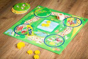 Mi primer tesoro de juegos, juegos de mesa para niños de 0 a 3 años