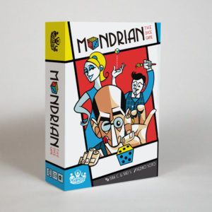 Mondrian the dice game