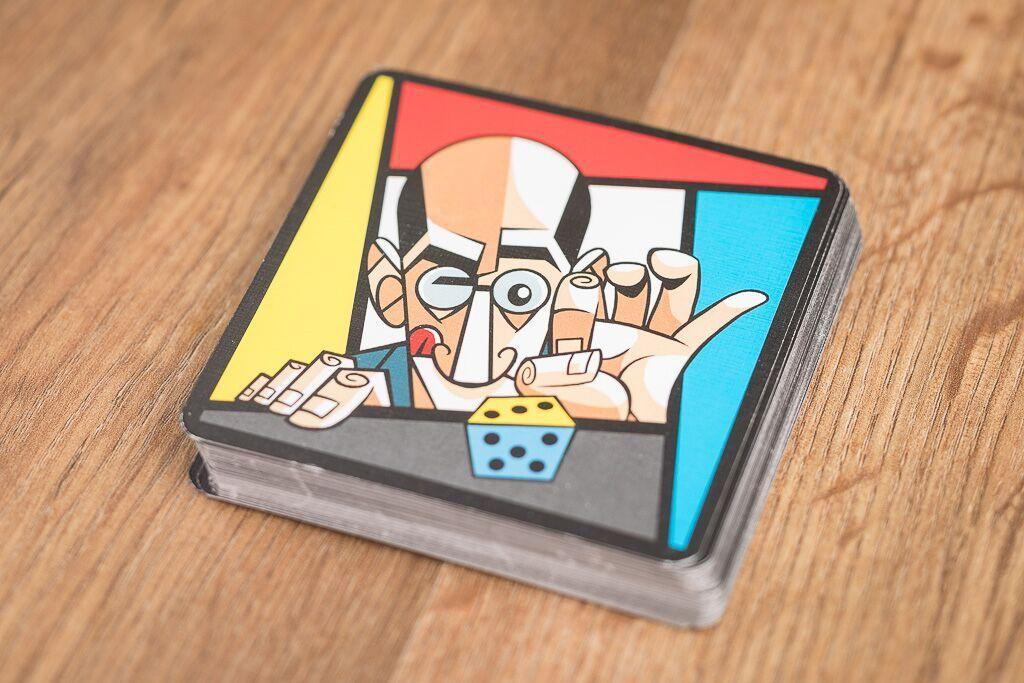 Mondrian, la historia de los juegos de mesa de dados