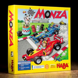 Monza juego de mesa infantil.