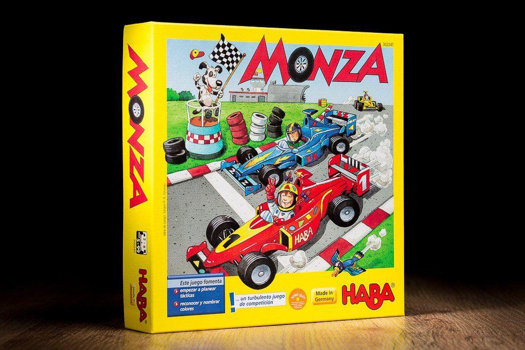 Monza Juego De Mesa Infantil Y Familiar Editorial Haba