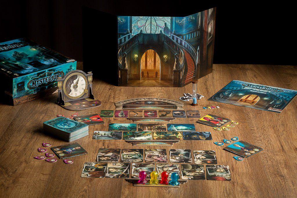 Mysterium juego de mesa familiar investiga un for Cazafantasmas juego de mesa