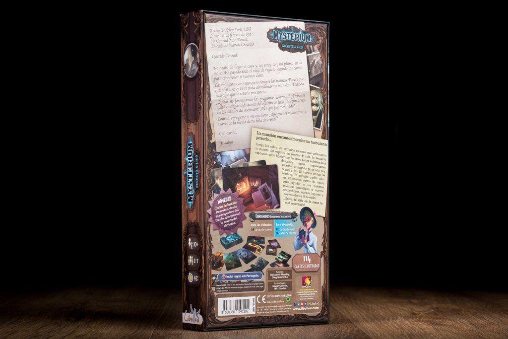 Mysterium sectrets lies juego de deduccion juegos de for Mysterium juego de mesa