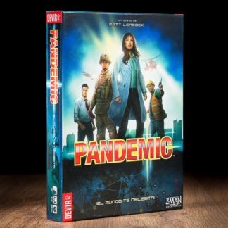 Caja del juego Pandemic