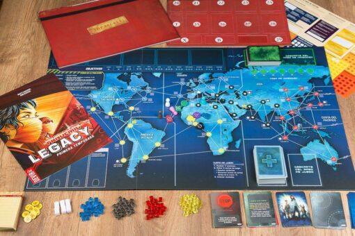 Pandemic legacy primera temporada