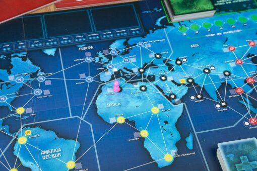 tablero de Pandemic legacy primera temporada