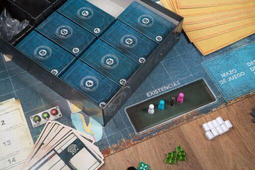 cajas misteriosas Pandemic legacy segunda temporada