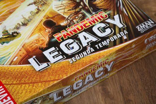Pandemic legacy segunda temporada caja