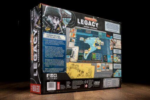caja Pandemic legacy segunda temporada