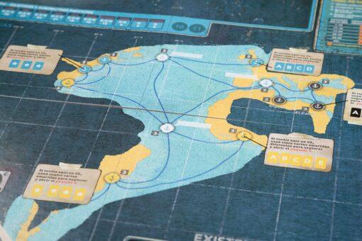 tablero de Pandemic legacy segunda temporada