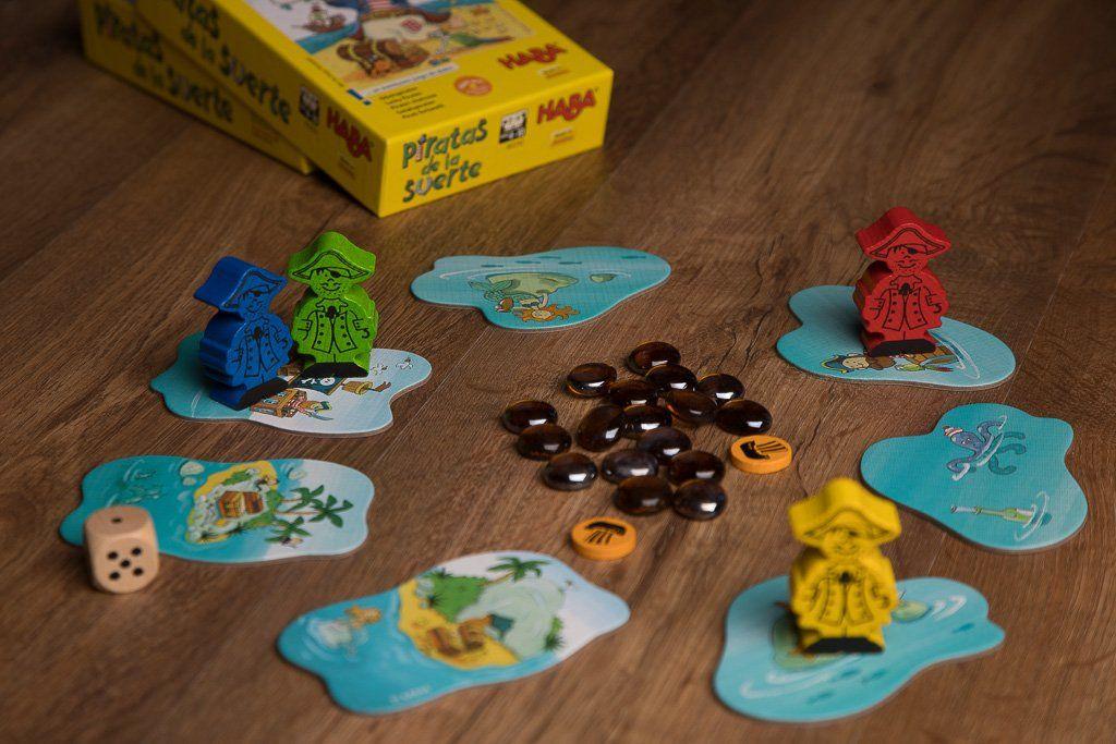 Piratas de la suerte juegos para niños y niñas de 5 años