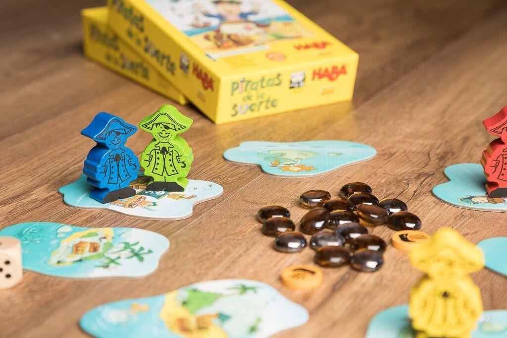 Piratas de la suerte, juegos de mesa de aventuras en el mar para los más pequeños