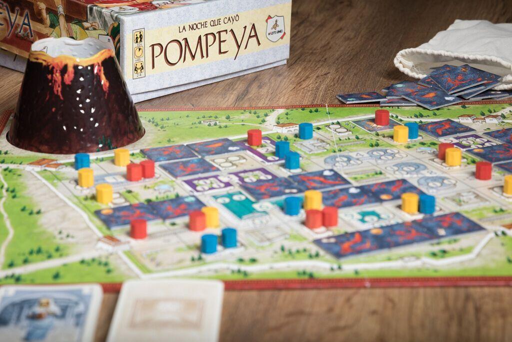 Pompeya, uno de nuestros juegos de mesa históricos