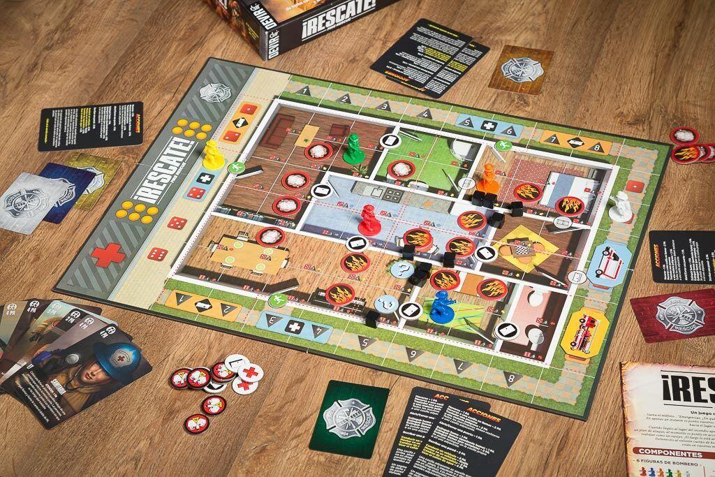 Rescate, uno de nuestros juegos de mesa sobre profesinoes