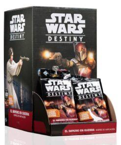 Star Wars Destiny El imperio en guerra: sobres de ampliación