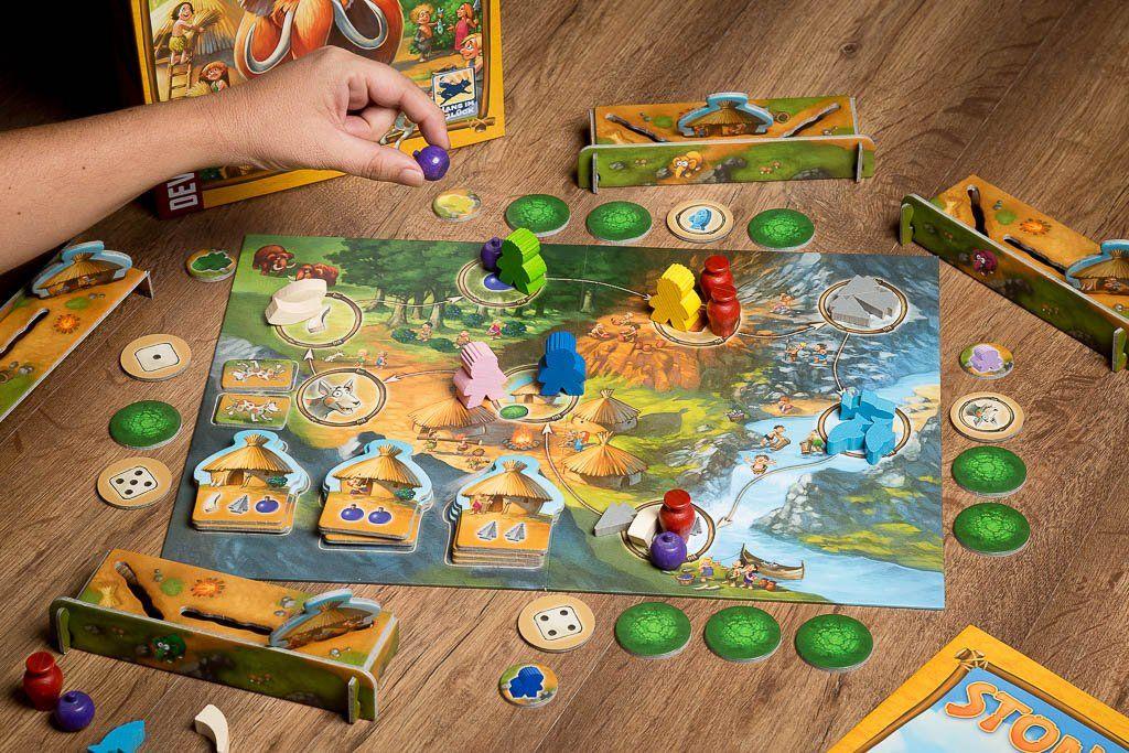Stone Age Junior, juegos de mesa para mejorar la socialización