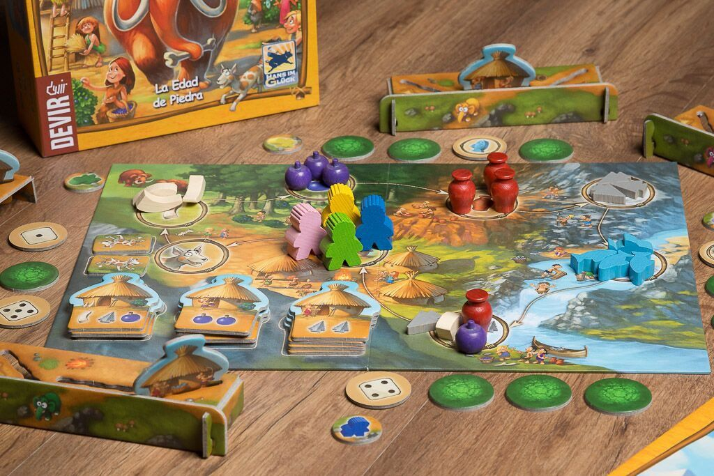 Stone age junior, juegos de mesa históricos para niños