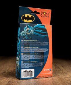 Parte de atras caja Story Cubes Batman